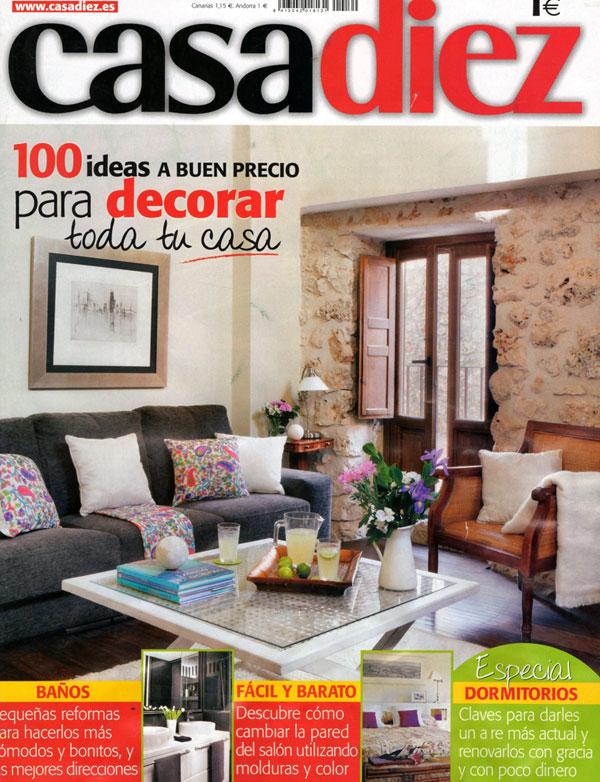 Proyecto Desing Plus en portada de revista casadiez | Design Plus ...